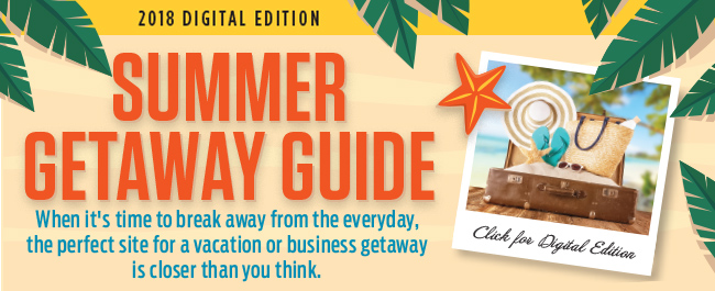 Summer Getaway Guide 2018
