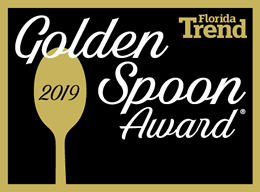 Florida Trend's Golden Spoon Award 2018