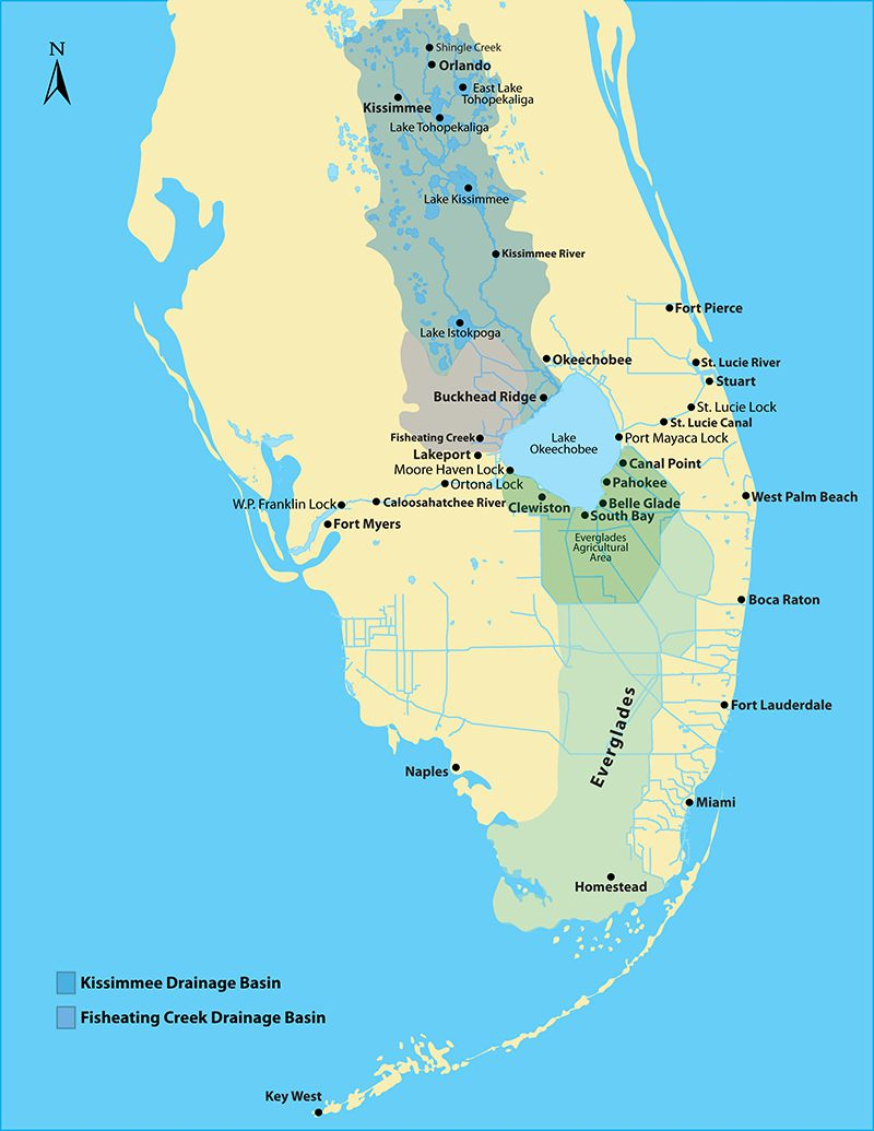 Lake Okeechobee Map Florida Issues: What to do about Lake Okeechobee? | Press Release  Lake Okeechobee Map